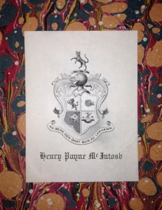 Hayes Armorial Bookplate